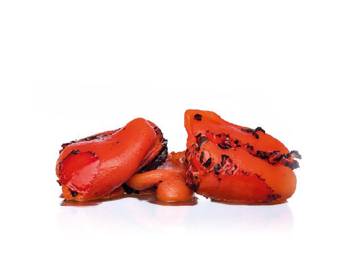 pimiento rojo asado entero